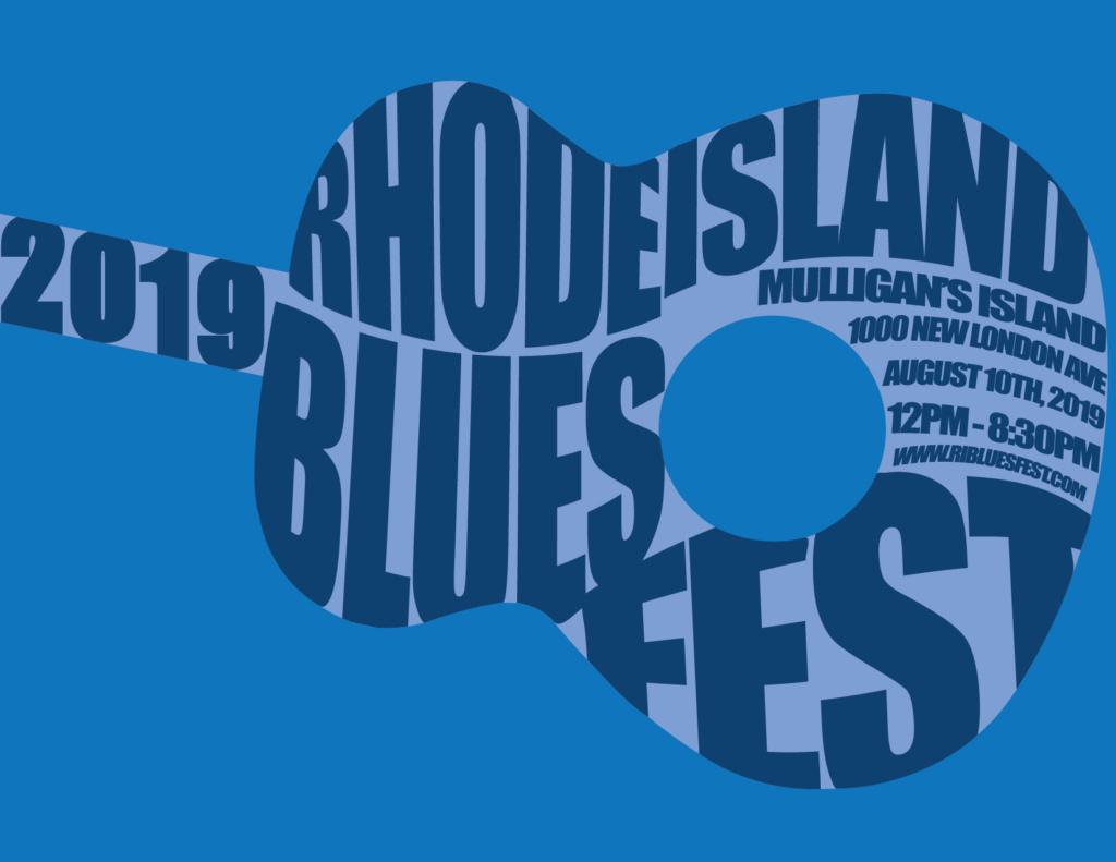 RI Blues Fest Event Poster