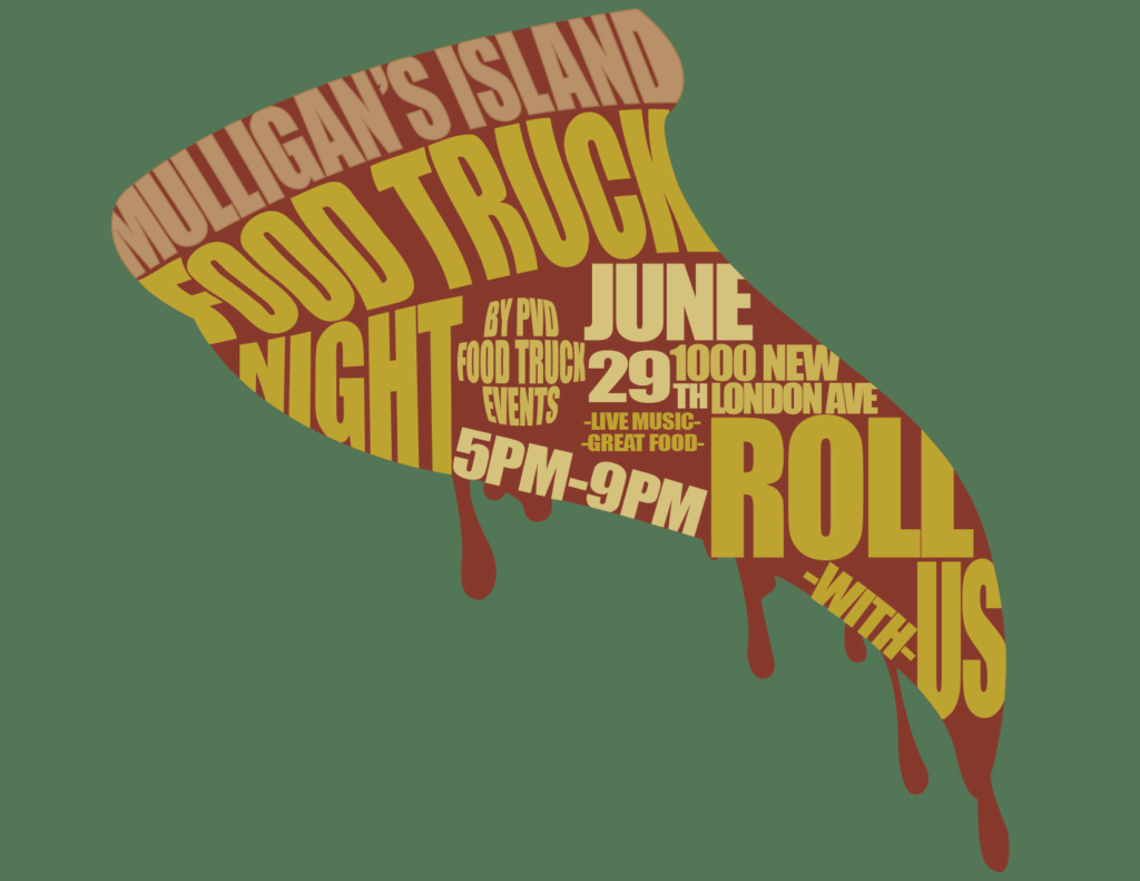 Food Truck Night Event Poster
