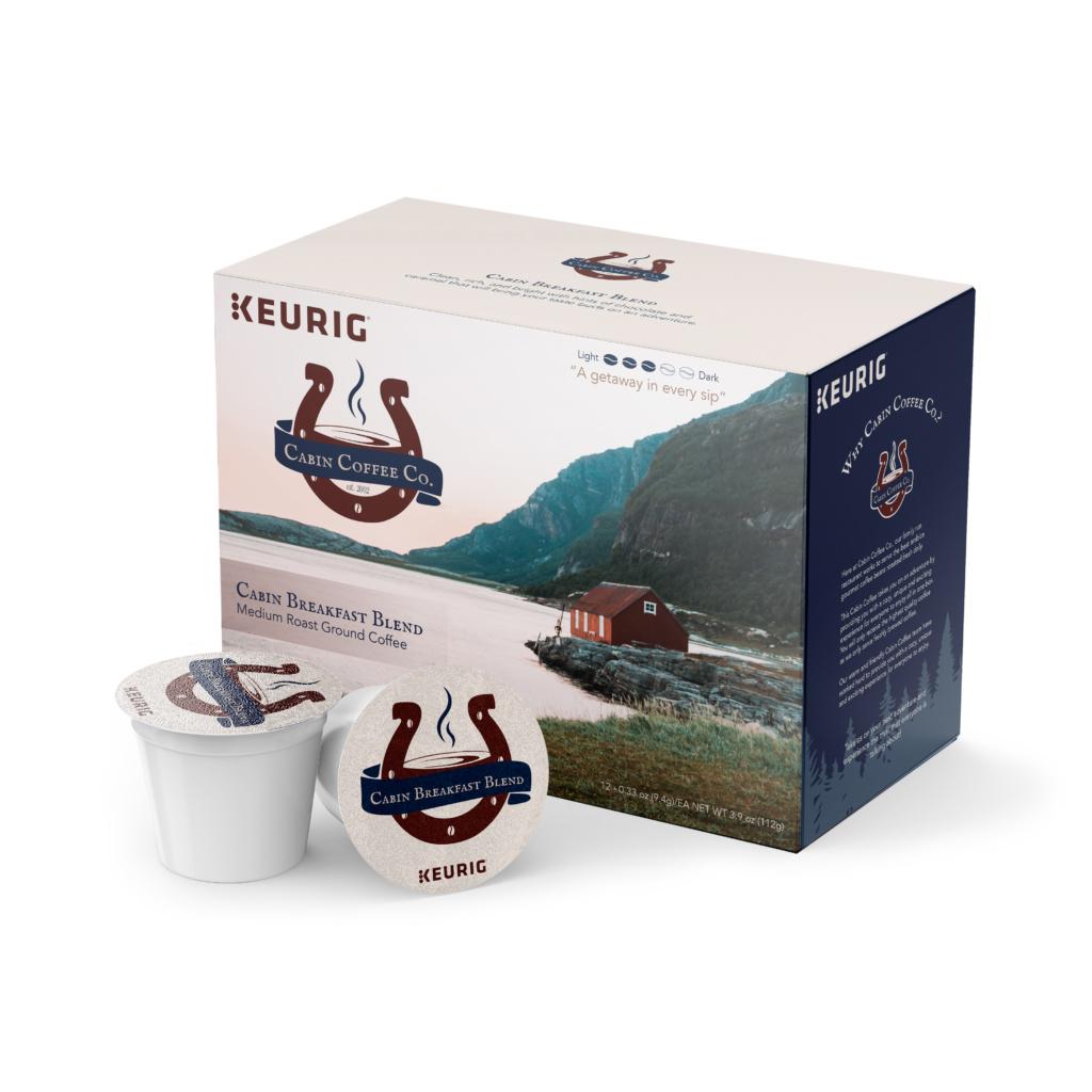 Re-Branding of K-Cup Package Design
