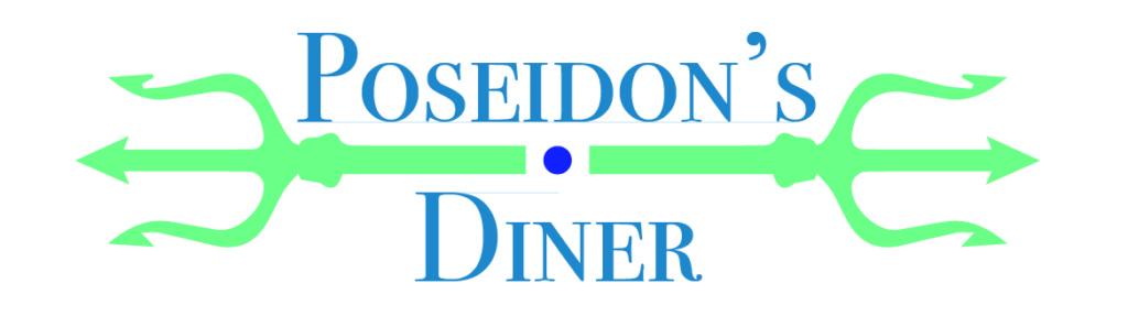 Poseidon's Diner Logo Design