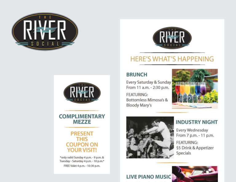 Marketing Materials for The River Social
