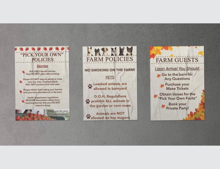 Poster Design for Salisbury Farm
