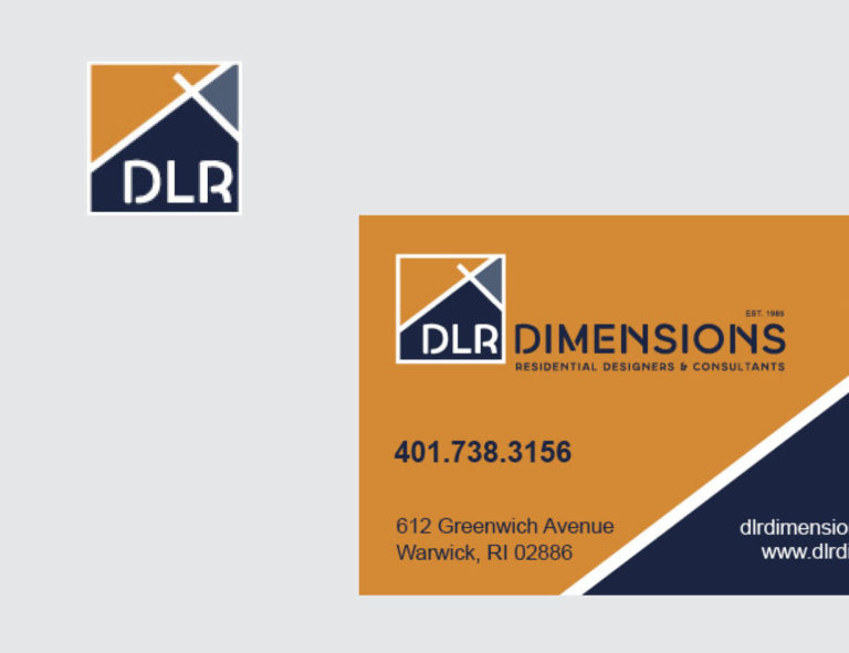 Business Card Design for DLR Dimensions