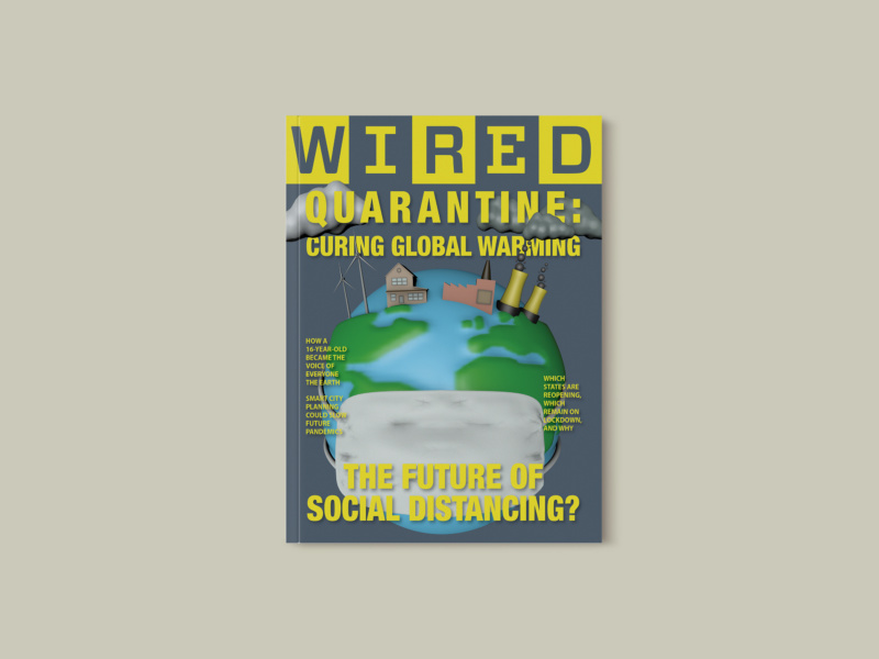 WIRED: 3D Earth Magazine