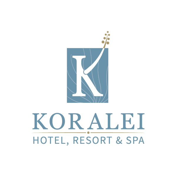 koralei vertical logo hotel branding