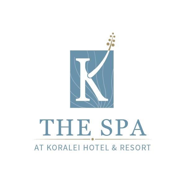 the spa at hotel koralei logo design