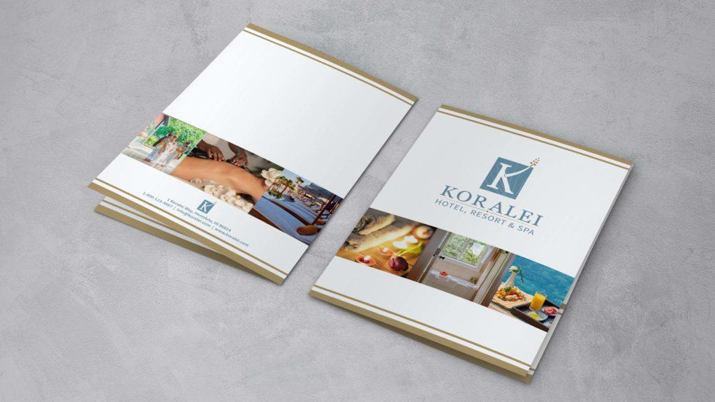 Koralei Marketing Folder